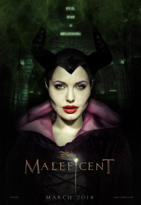 maleficent_teaserposter  angelina jolie march 2014